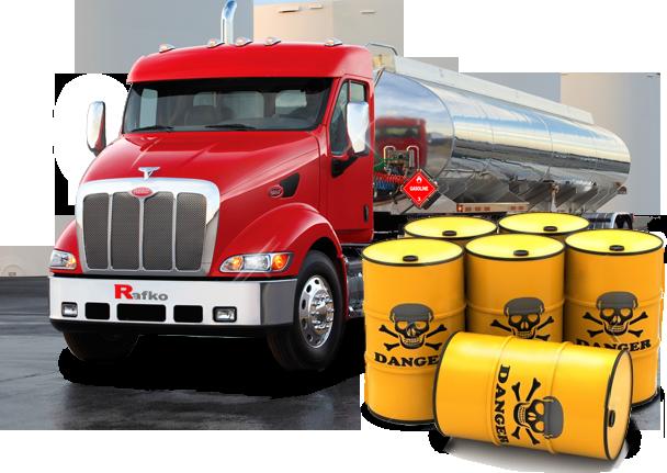Перевозка опасных грузов Тюмень